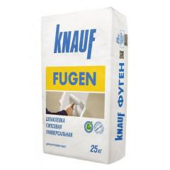 КНАУФ-Фуген, шпаклевка гипсовая универсальная, 25кг