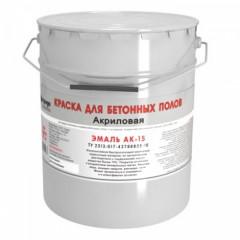 Краска для бетонных полов АК-15