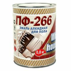 Эмаль ПФ-266 WHITE HOUSE