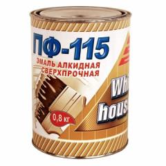 Эмаль ПФ-115 WHITE HOUSE