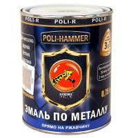 Эмаль по ржавчине металлик Poli-Hammer